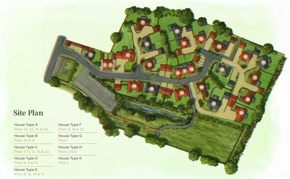 North Elmham Site Plan